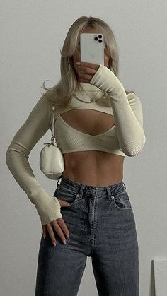 Retro Outfits, Cute Casual Outfits, Summer Outfits, Girl Outfits, Fashion Outfits, Womens Fashion, Aesthetic Fashion, Look Fashion, Aesthetic Clothes