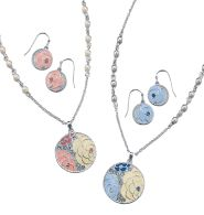 """Camille Necklace and Earring Gift Set for $9.99 that goes with the """"Into the Wild"""" Rings. The Entire Set of the Necklace, Earrings and the Ring is $19.98."""