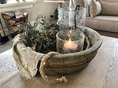 Take a look inside Emmaly - De Wemelaer # Christmas decoration living room Windproof rope Olive Box with lights kerst diy Love Decorations, Christmas Decorations, Deep Couch Sectional, Deco Furniture, Rustic Charm, Vintage Christmas, Fall Decor, Farmhouse Decor, Living Room Decor