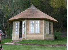 Thatched Summer House - Thatching Summerhouses by Master Thatchers North Ltd.