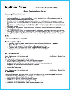 system administrator resume system administrator resume includes a snapshot of the skills both technical and nontechnical skills of system administrator