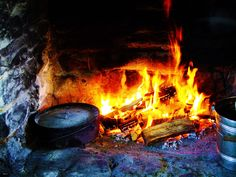 Cooking Over an Open Hearth! Learn the benefits and rustic appeal of this lost art.