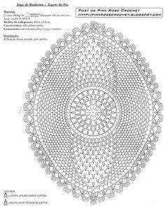 graficos sink mat for bathroom croche game Filet Crochet, Crochet Mat, Crochet Home, Thread Crochet, Irish Crochet, Free Crochet Doily Patterns, Crochet Motifs, Crochet Doilies, Crochet Stitches