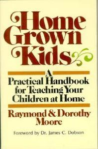 by Raymond and Dorothy Moore...considered the Father of Home Education....Bring your kids Home.