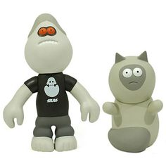 """Toy064 """"Evil Martin & Bubba"""" by James Jarvis from Silas (1999) #Toy"""