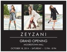 ZEYZANI FLAGSHIP STORE MOORESTOWN MALL