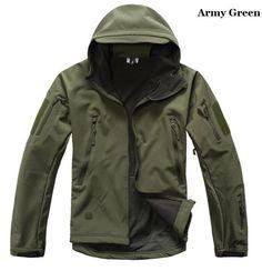 Men Tactical Jacket Hard Shell Sport Outdoor Military Waterproof Windproof Coat #NEW #Military https://twitter.com/ManMentality