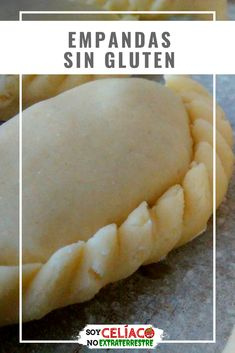 Gluten free empanadas in 4 steps (dough for empanadas without TACC) - Empanadas without gluten. Elastic and flexible dough that never breaks. Gourmet Recipes, Cooking Recipes, Healthy Recipes, Bread Recipes, Gluten Free Diet, Gluten Free Recipes, No Gluten, Lactose Free, No Bake Snacks