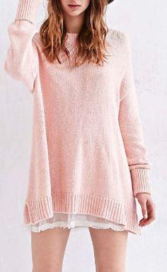 A line sweater