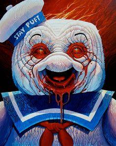 Une sélections de peintures surréalistes, pop et trash, issues du portfolio de l'artiste américain Dave Macdowell. Un univers fascinant où s'entrecroisent célébrités, contes pour enfants, packaging de céréales, références de film, drogues et fast-food… De Bambi à Fight Club en passant par la cocaïne, Burger King, Kill Bill, Obama, Hello Kitty, le Seigneur des anneaux ou The Big Lebowski, laissez les créations satiriques de Dave Macdowell vous exploser au visage !