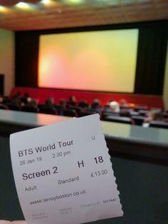 Bts World Tour Seoul der Film - Cinemas Project - dekoration Seoul, Cinema Ticket, Bts World Tour, Movie Tickets, Home Cinemas, About Bts, Fandoms, Cards Against Humanity, Tours