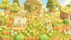 Animal Crossing Fan Art, Animal Crossing Guide, Animal Crossing Characters, Front Gardens, City Folk, Aesthetic Collage, Creative Inspiration, Island, Painting