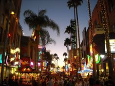 Universal City Walk in the Heart of LA...these are fun times!