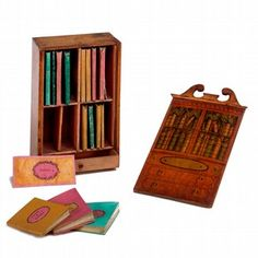 Miniature libraries from the Children's Books Collections at Victoria and Albert Museum