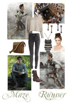 Designer Clothes, Shoes & Bags for Women Runners Outfit, Maze Runner Series, Fandom Outfits, Fandoms, Halloween Costumes, Cosplay, My Style, Polyvore, How To Wear