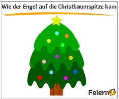 Wie der Engel auf die Christbaumspitze kam