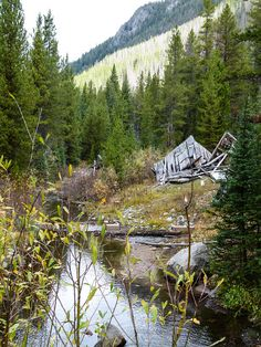 Plan a fall trip on the Pioneer Mountains Scenic Byway in Montana to explore Coolidge Ghost Town.
