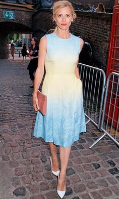 Laura Bailey  I want this dress!