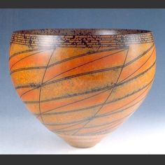 Duncan Ross - Bowl treated with terra sigillata