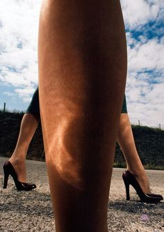 Charles Jourdan, fall 1975. Guy Bourdin