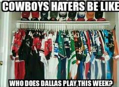 How many more friends would they have if they rooted for the Cowboys this hard?!
