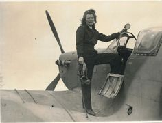 Mary Guthrie flew Spitfires and Hurricanes on transport missions during WWII. She never saw combat but was a highly capable pilot. After the war she was famous for her parties in London.