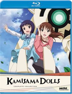 Anime Castle - Kamisama Dolls Blu-ray Complete Collection...Running away from one's past is hard.  If you're a Seki that can control Kakashi it is impossible!