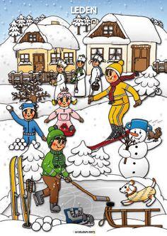 Rok vyrabimesdetmi album na Raj? Weather For Kids, Winter Activities For Kids, Drawing Conclusions, Easy Drawings For Kids, Weather Seasons, Winter Pictures, Winter Sports, Winter Time, Four Seasons
