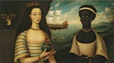 People of Color in European Art History - Portrait of the Princess of Zanzibar with an African Attendant