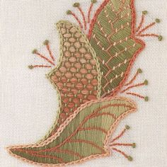 Crewel embroidery #crewelembroidery