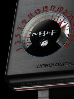 HM2.2 Blackbox: In terms of design, the Silberstein case retains the twin porthole dials and powerful profile of the original Horological Machine No2 with its flying-buttress lugs. The rectangular case is a solid block of titanium, resting on the original steel substructure of Horological Machine No2. This multi-layered construction is what gives the watch its powerful, richly engineered profile.  http://www.mbandf.com/machines/performance-art/hm2-2-black-box/#/intro #HM2.2 #MB&F #Blackbox