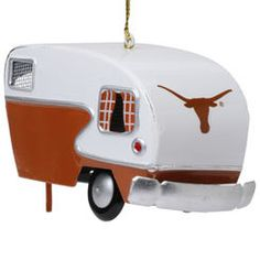 Texas Longhorns Team Camper Ornament