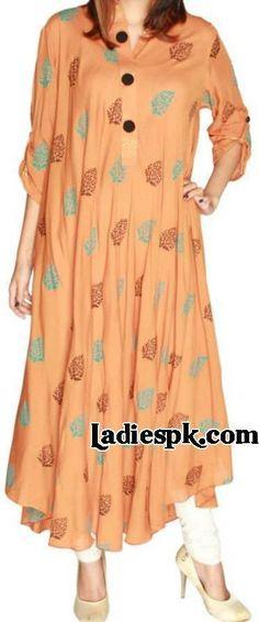 Women's kurta Fashion in Pakistan and India 2013 SummerTrend Long kurtis style Choori Pyjama