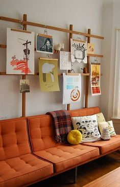 お部屋をアーティスト空間に♪額を使わないアートや写真の飾り方、実例アイデア特集 | iemo[イエモ] | リフォーム&インテリアまとめ情報