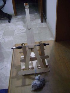 how to build a mini trebuchet out of popsicle sticks