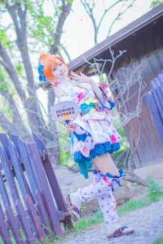 QieLing(茄零) Honoka Kosaka Cosplay Photo - WorldCosplay