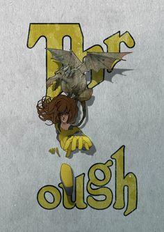 Kitty pride, shadow cat, Lockheed, X men, mutant, illustration, character design, typography