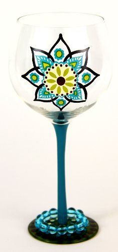 """Hand Painted Just Spice Graphic Wine Glass, Holds 18 Oz, Assoted Colors - In A Gift Box by Wine Glasses. $25.00. Hand Painted Wine Glasses are perfect for a birthday party, holiday, graduation, or a festive gathering with friends. Add a stylish accessory to you your party and make it fun and unique with these well-crafted """"Just Spice"""" graphic wine glasses. Each glass is carefully hand painted; the vibrant colors and crystal embellishments are applied with met..."""