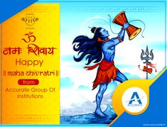 Accurate Group Of Institutions wishes you Happy Mahashivratri. #Accurate #MahaShivRatri