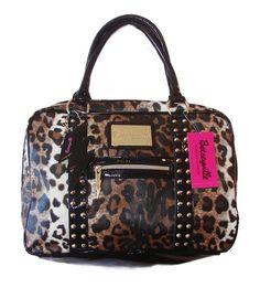 Betsey Johnson Purses   Betsey Johnson Handbag Kats Eye Satchel Natural  