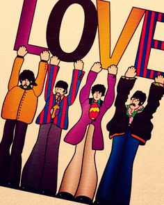 I'm always surprised (& wary) when I hear that somebody doesn't love the Beatles. So many contributions to the collective conscious. Love