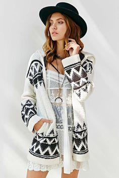 BDG Buffalo Sweater Jacket - Urban Outfitters | Get up to 11.2% Cashback when you shop at Urban Outfitters as a DubLi member! Sign up for FREE today! www.downrightdealz.net
