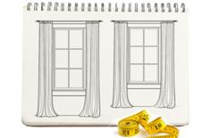 how to measure fabric for your window treatments