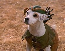 Wishbone! Somehow it seemed completely normal that a dog was Robin Hood when you did it.  You deserved an award!