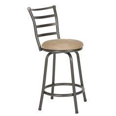 Adjustable Swivel Chair Seat Stool Patio Garden Home Bar Counter Metal Height | eBay