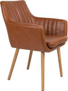 Pike stoel cognac - Robin Design