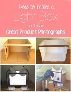 DIY Light Box to Take Great Product Photographs ~ Tips and Tricks for Handmade Sellers