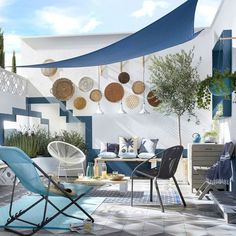 Trendy Home Design Exterior White Ideas Outdoor Rooms, Outdoor Living, Outdoor Decor, Patio Roof, Backyard Patio, Screened Patio, Patio Table, Rooftop Terrace Design, Rooftop Patio