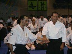 Christian Tissier 2007 Aikido, Dojo, Chef Jackets, Christian, Christians, Hapkido