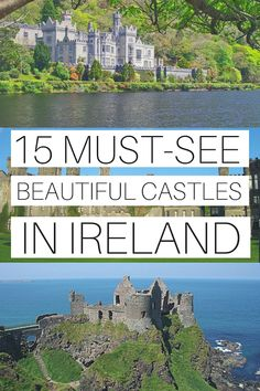 15 Must-See and Best Castles In Ireland To Visit - Ireland Travel Guides Ireland castles are aplenty. So if you have limited time, this guide to the best castles in Ireland can help you decide. Check this list out. Travel Ireland Tips, Ireland Vacation, Europe Travel Tips, European Travel, Travel Guides, Places To Travel, Travel Destinations, Ireland Destinations, Italy Travel